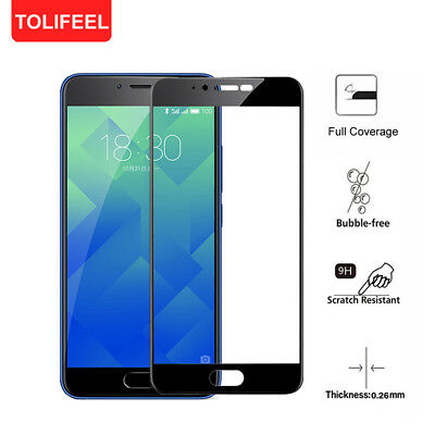 9H Full Cover Tempered Glass Screen Protector Film For Meizu M5 M5S M5 Note M5C