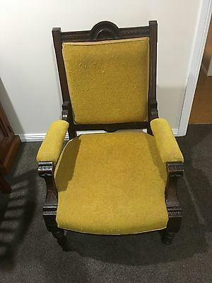 Antique chair solid timber - great condition for age