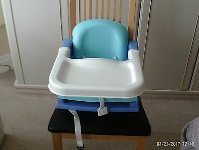Babys Booster seat for Dining with tray