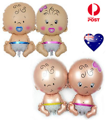Jumbo Baby Shower Foil Balloons Air Inflatable Party Decoration Girl Boy Balloon