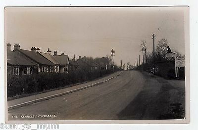 Northamptonshire, Overstone, The Dallington Kennels, Street Scene, Rp