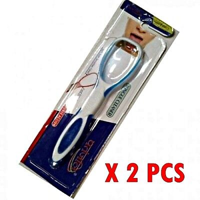 2 High quality Plastic Tounge Cleaner Scraper Dental Care Oral Hygiene Mouth UK