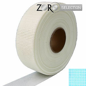 Zoro Selection Fugenband weiß 45mm x 90m selbsthaftend Gitter-Glasfaserband