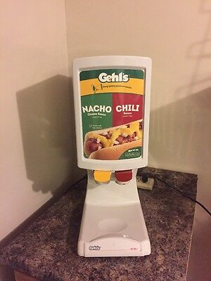 Gehl's Nacho Cheese  & Chili Sauce Dispenser