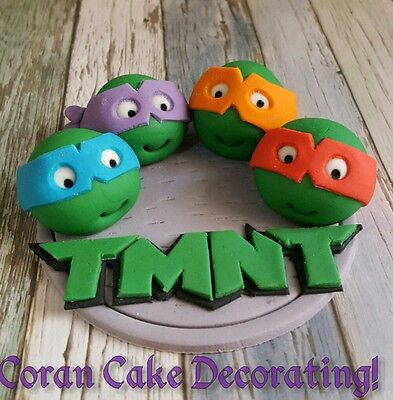 Edible Fondant TMNT Sewer Cake Topper approx 10-12cm Any Colours