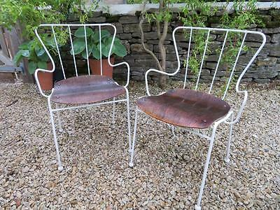 ERNEST RACE - A pair of 1950's vintage ANTELOPE Chairs for FESTIVAL OF BRITAIN