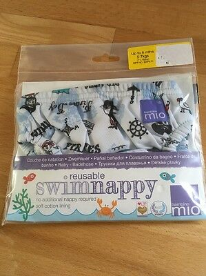 Bambino Mio Reusable Swimming Nappy Up To 6 Months 11-16lb