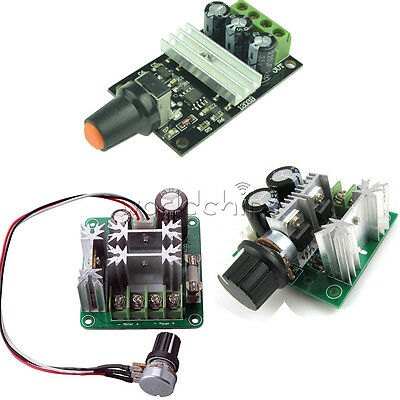 PWM Motor DC 6V-28V/6-90V/12V-36V/12V-40V 3/10/15A Adjuster Speed Control Switch