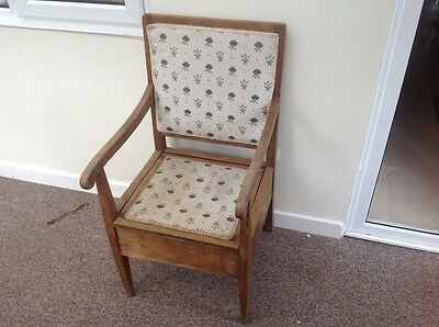 antique victorian commode chair armchair chair