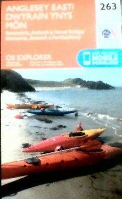 OS Map 263: ANGLESEY EAST