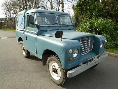 1977 LAND ROVER SERIES 3 88andQUOT; 2.25 Petrol SWB Truck Cab Pick Up.