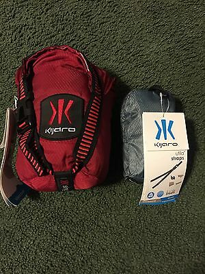 Kijaro Hammock Single With Utila Straps Red Camping System NEW
