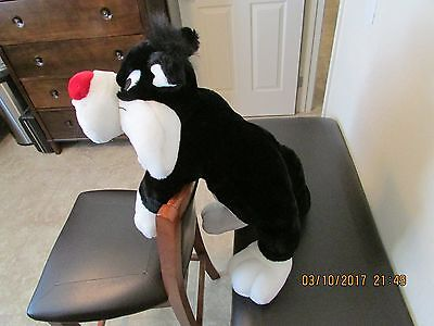 "EXTRA LARGE       ""SYLVESTER""      Plush Stuffed Cat"