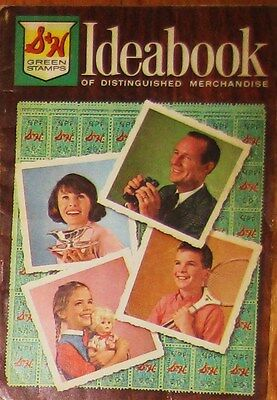 vintage S&H Green Stamps Ideabook 1965 Catalog Idea Book Toys Furniture
