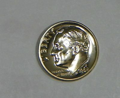 1968 S Proof Roosevelt Dime From U.S.MINT Proof SET