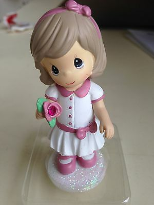 Precious Moments January Birthstone Figurine. Still in original packaging.