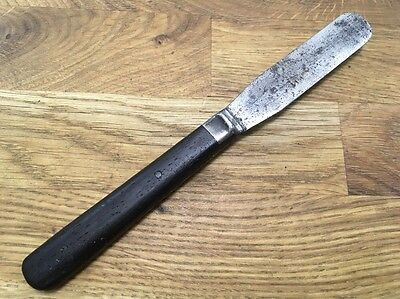 RARE Victorian JOHN MARIS CO Philadelphia spatula pill Knife vtg Pharmacist Drug