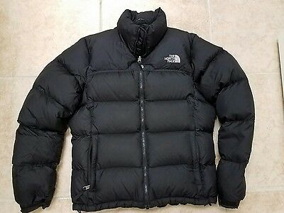 The North Face Women's Jacket  Medium Black 700 Fill Goose Down Puffer