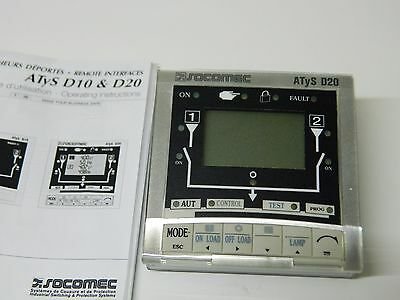 Socomec ATyS D20 Remote Interface 1599 2020