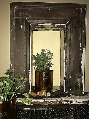 Antique Victorian style window-architectural salvage, Perfectly weathered