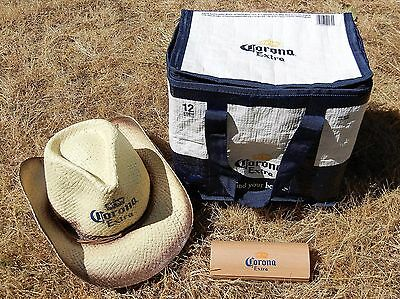 Corona Beer Cooler & Sunglasses Case, 12 Pack Can Cooler + Eyeglasses Case Only