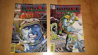 2000AD Rouge Trooper The Final Warrior # 1,2,12,13,19,22,23,25 2000AD