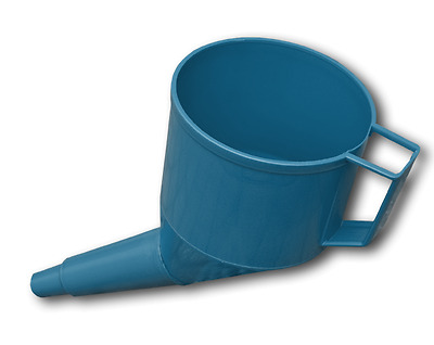 Blue Plastic Petrol Diesel Funnel For Oil Water Fuel