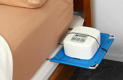 BEDSIDE TABLE for CPAP BiPAP VENTILATORS - Great for Travel - Sleep Apnoea