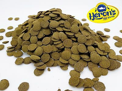 HERONS Spirulina Algae Wafers PLECO CORY SUCKERMOUTH CATFISH SINKING FISH FOOD