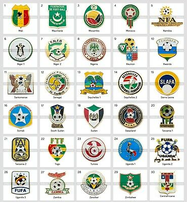 Badges Pin: CAF Confederation of African Football Federation Part 2