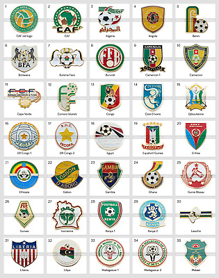 Badge Pin: CAF Confederation of African Football Federation Part 1