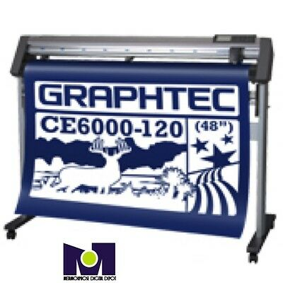 CE6000-120, 1.2 Mts, Vinyl Cutter By Graphtec America, TOP SELLER We Accept Bids