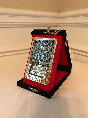 Kaaba Door And Quran on a copper display made in Syria