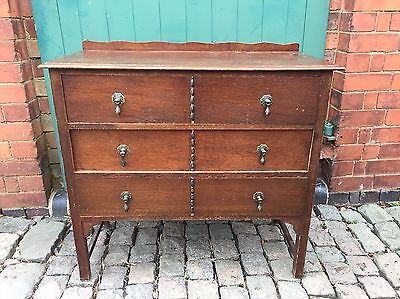 Antique Waring & Gillow Ltd Draw Side Cabinet (Delivery Available)