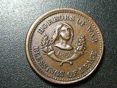 1863, Horrors Of War, Blessings Of Peace,      **ck Out My Other Auctions**