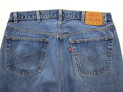 Vtg Levi's 501 Jeans ~ measure 36 x 36 ~ MADE IN USA red tab ~ EUC