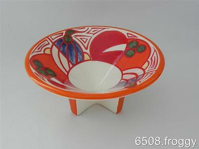W//WOOD **CLARICE CLIFF** Conical Bowl - *MELONS* - Mint!