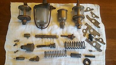 Hit and miss engine oilers and parts LUNKENHEIMER,  large assortment PIECE LOT