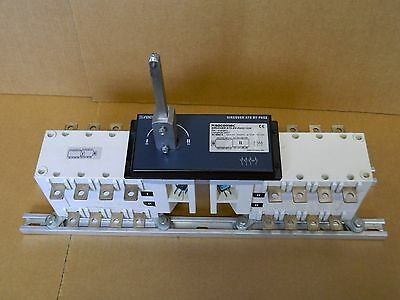Socomec SIRCOVER ATS BY-PASS 125A 4 Pole Manual Changeover Switch