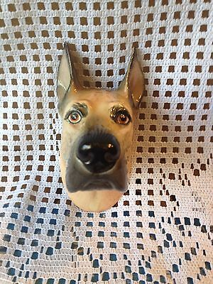 Vintage Great Dane Head Plaque