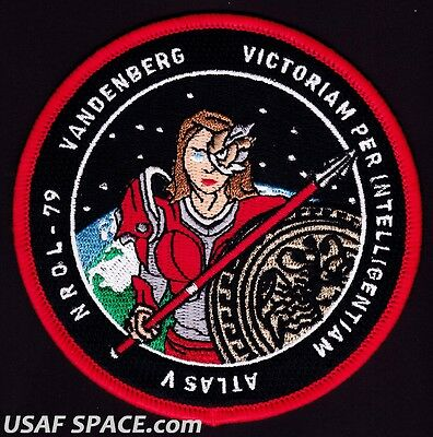 NROL-79 - ATLAS V - VAFB ULA USAF DOD NRO - ORIGINAL - SATELLITE Mission PATCH