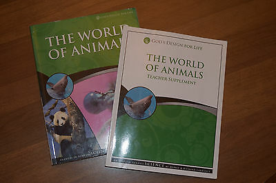 God's Design for Life- The World of Animals and Teacher Supplement