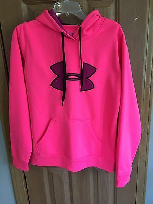 "UNDER ARMOUR Women's Pink/Purple ""Storm"" Hoodie Size M"