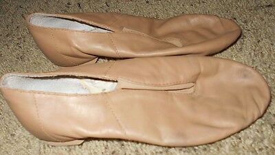 Bloch Girl's Tan Jazz Shoes Size 4