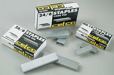 Celco 24/6 Staples 1000 Pack