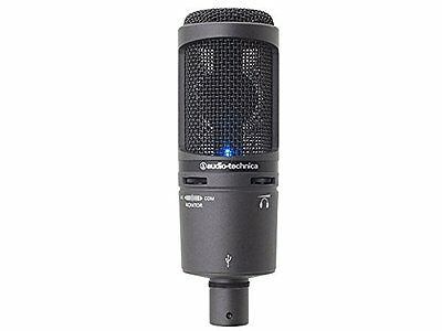 Audio-Technica AT2020+USB Microphone High-quality With D/A Converter 16bit/4...