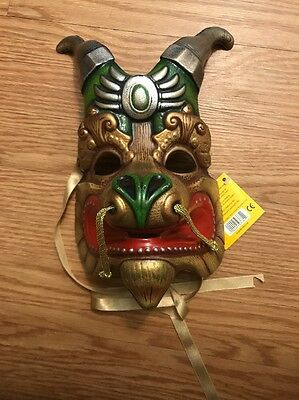 NEW Cirque Du Soleil Dralion Dragon Mask With Tags FREE SHIPPING