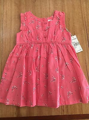Purebaby Cherry Blossom Dress - Size 0 - New With Tags