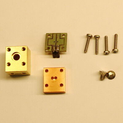 Brass Laser Diode mounts 5.6mm TO-18 for M9x0.5mm lens