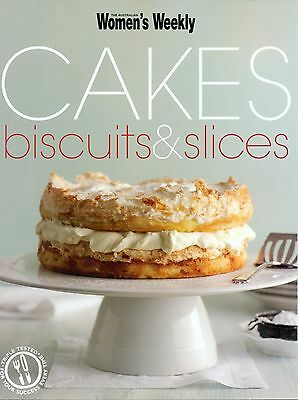 Women's Weekly - CAKES BISCUITS & SLICES -  SC - LIKE NEW CONDITION